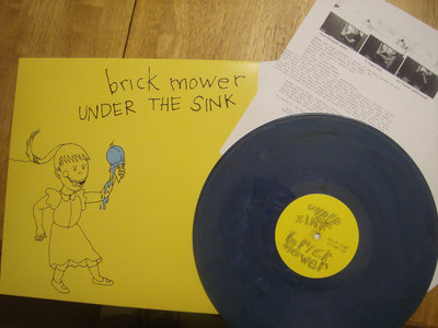 Under the Sink LP -  2nd Pressing (Red Vinyl, Limited to 200)