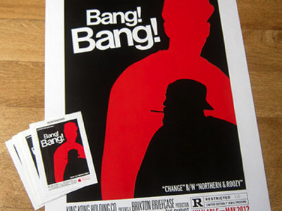 "Hand Numbered ""Bang Bang""  Limited Edition A3 Poster"