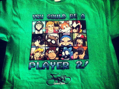 """Player 2"" Tee main photo"