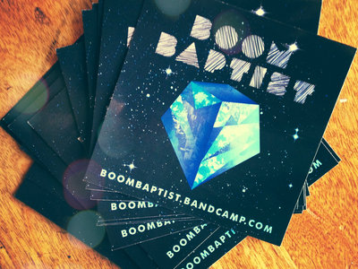 Pack of 10 BoomBaptist Stickers
