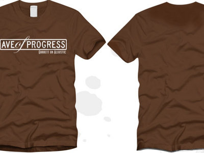 Avenue of Progress T-Shirt - Brown