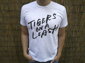 Tigers on a Leash Logo T Shirt (White)