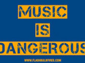 Music Is Dangerous Sticker