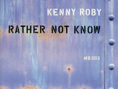 Rather Not Know - CD