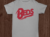 'Beds' Logo T-Shirts (red/grey)