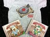 Once Upon A Rhyme 1 and 2 CDs + Turntable Onesie - Bundle
