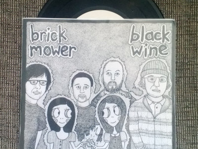 split 7'' w/ Black Wine