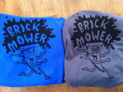 brick mower- Pizza t-shirts