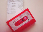 Limited DIY-dubbed shiny fire-red demo-tape