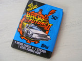 "Original Vintage ""Back to the Future Part II"" - Trading Cards"