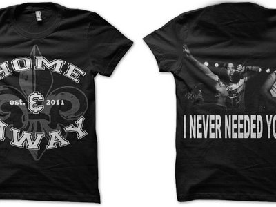 """I Never Needed You"" Black T-Shirt"