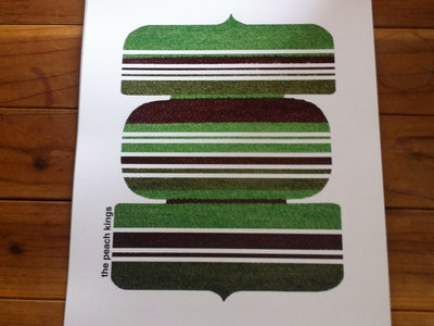 Limited Edition Textile Print (Green)