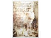 Chansons De Depart Poster: Limited Edition