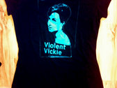 Violent Vickie t-shirt (black)