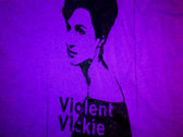 Violent Vickie t-shirt (purple)