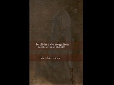le delire de negation (a novel) [2013]