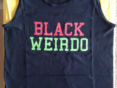 Black Weirdo Tank Top