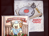 Once Upon A Rhyme CD + Digital Copy w/ Turntable Onesie