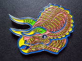 """As Awesome As Three Unicorns"" Enamel Pin"