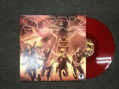 Corned Beef Colossus Vinyl Gatefold / Ltd Edition Transparent Red