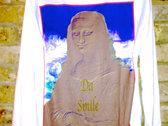 'Da Mona Smile' Long Sleeve  Crew Neck Premium Vapour Tee