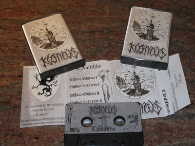 "TAPE -  DEMO "" L'ANTITHESE"" + ALBUM ""FROM INNOCENCE TO PERVERSITY""."