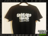 Glow-In-The-Dark Graveyard Calling Logo T-shirt
