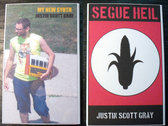 "AMOK047 / AMOK045 - justin scott gray - ""My New Synth"" & ""Segue Heil"" SPLIT CASSETTE"