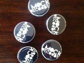 "Mock Records 1.5"" pin!"