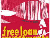 "Free Loan Investments - limited edition 10"" ep"