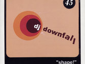 "DJ Downfall - limited edition 7"" single"