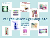 Download-only of all 10 FingerPainting: Complete shows