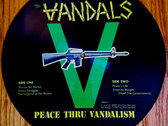 Vandals Peace Through Vandalism Picture Disc