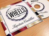 Kaptain Cadillac - Wheels EP:CD + Stickers (FREE SHIPPING WORLDWIDE)