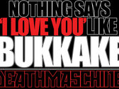 'BUKKAKE' Oversized Sticker
