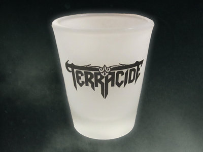 Terracide 2 oz Frosted Shot Glass