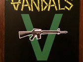 Classic Vandals V-Gun Sticker (Pack of 3)