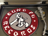 "Kung Fu Records Official 12"" D.J. Turntable Slip Mat"