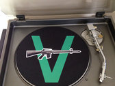"The Vandals 12"" Turntable Slip Mat + Download of 31 Track ""Internet Dating Superstuds"""