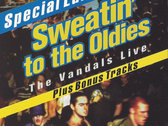 Classic V-Gun T-shirt + D.J. slip mat + Vandals' Sweatin To The Oldies 18 song download.