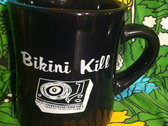 Bikini Kill Mug - White on Black