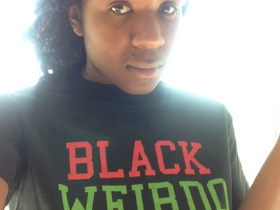Black Weirdo Tee