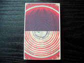 "AMOK073cs - justin scott gray - ""the radius of the innermost circle is One"" CASSETTE"