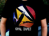 Opal Tapes Logo T-Shirt + Sticker + Cambiare Compilation