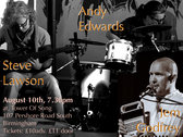 Jem Godfrey, Steve Lawson, Andy Edwards, Tower Of Song, August 10th