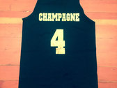 TOPE*/CHAMPAGNE 4 TANK TOP BLACK