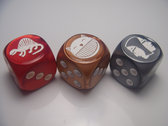 2014 Doubleclicks Dice Set (3 dice)
