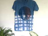 SIZE SMALL ONLY - - Indigo-dyed Shibori Tee - - Not Quite Hotel California