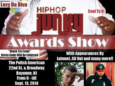 2014 Hip Hop Junky Awards Show Tickets main photo