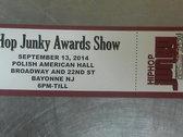 2014 Hip Hop Junky Awards Show Tickets photo